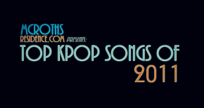TOP KPOP SONGS OF 2011